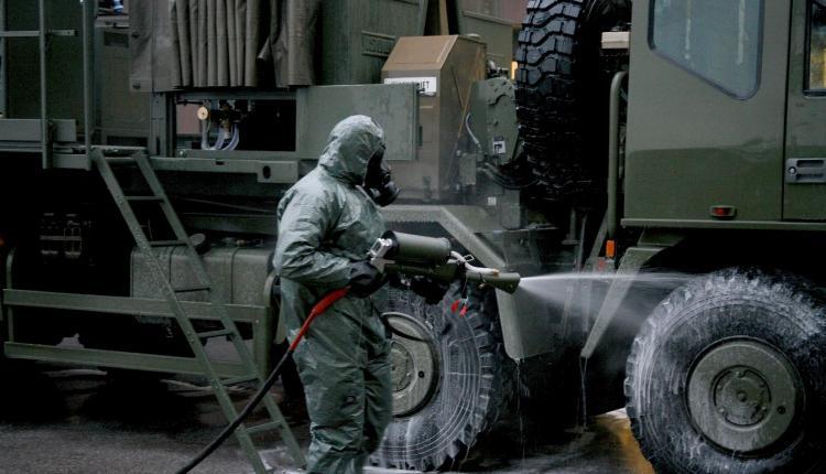 Descontaminação CBRN