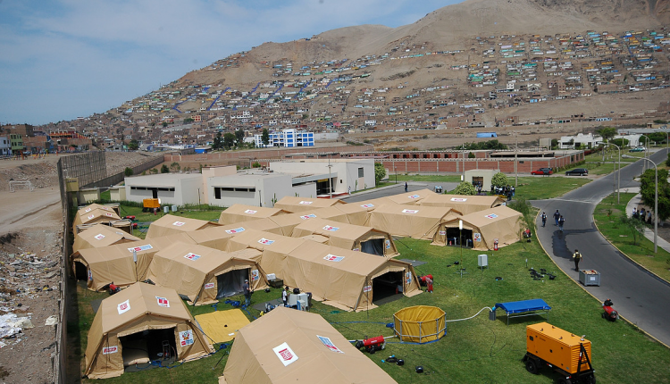 Tents and hangars