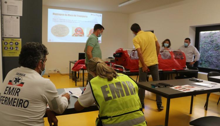 Protilis Portugal Lda provided training on contaminated transport stretchers provided to the Regional Civil Protection Service of Madeira.